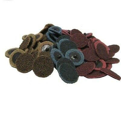 50 2 Roloc Surface Conditioning Sanding Disc Mixed