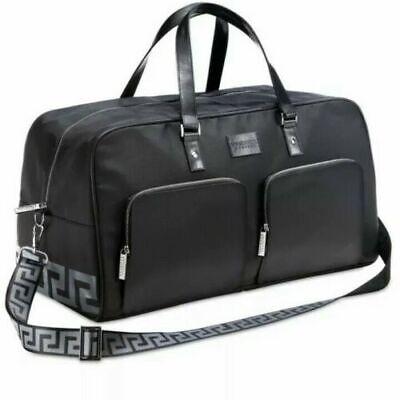 Versace Parfums Duffle Bag Weekend Gym Sport Travel Overnight Handbag!
