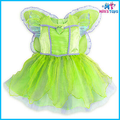 Disney Fairies TinkerBell Deluxe Costume for Baby sizes 12-24 months brand new