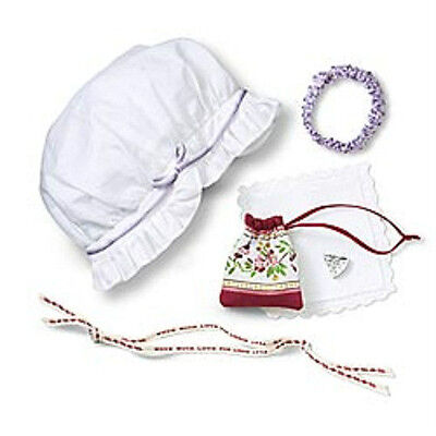 American Girl Doll FELICITY'S ACCESSORIES Purse Hat +  FAST SHIPPING