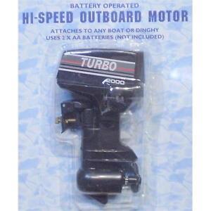Hi-Speed Outboard Motor for Model Boat or Dinghy R1004