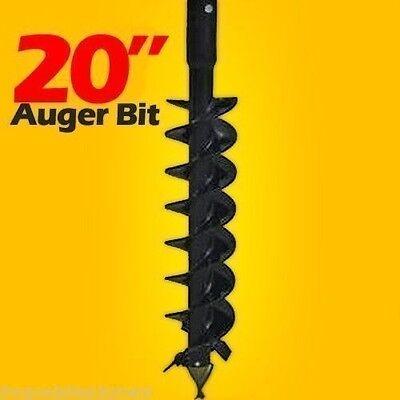 20 Skid Steer Auger Bit Mcmillen Hdcfor Difficult Digging 2 Hex Drive 1200