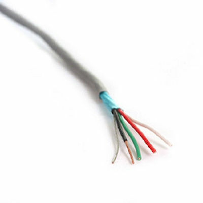 184 Awg Stranded Wire Control Cable - Shielded - Security - Cnc - 10 Foot