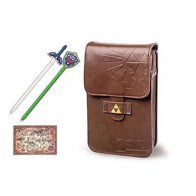 LIMITED EDITION Nintendo The Legend of Zelda Adventurer's Pouch Case 3DS XL NEW!