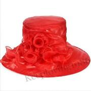 Red Derby Hat
