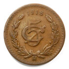 Bronze Mexican War of Independence Coins (1810-1821)