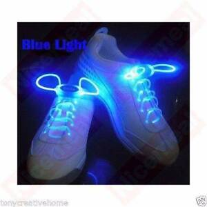 NEW 1 Pair FASHION LED FLASHING RED/BLUE/ORANGE/YELLOW/GREEN SHOE Sydney City Inner Sydney Preview