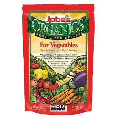 Jobe'S Vegetable Fertilizer Spikes 2-7-4 Spike Organic