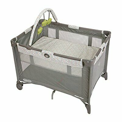 Graco Pack 'n Play Includes Full-Size Infant Bassinet, Compact Fold, Pasadena
