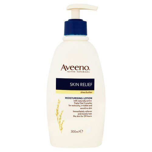 Aveeno Body Lotion Shea Butter, 300ml Free Delivery NEW
