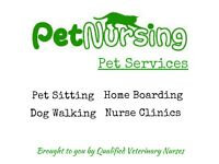 Pet Nursing - Pet Services by Qualified Veterinary Nurses