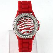 Womens Rubber Sport Watch