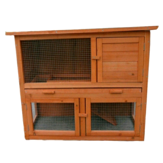 🐇🎅DOUBLE story hutch FREE GIFT mini lops Guinea pigs packages