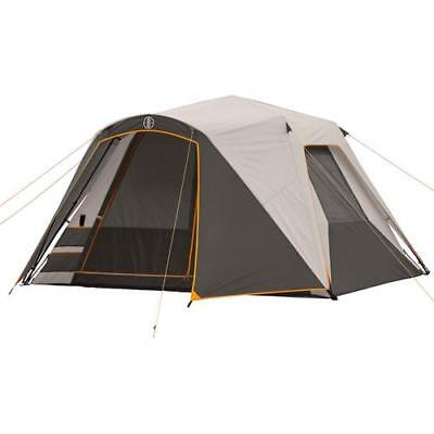 Bushnell 6 Person Tent with 4 Chairs and 4 Sleeping Bags Val