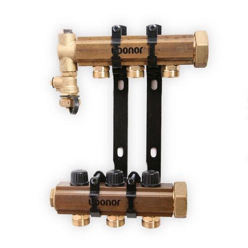 Uponor TruFLOW Jr. Manifold Assembly, B&I, 3-loop A2660301