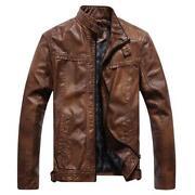 Mens Vintage Leather Jacket