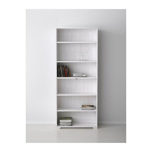 ikea borgsjo bookcase bookshelf white discontinued from. Black Bedroom Furniture Sets. Home Design Ideas