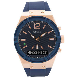 BRAND NEW Guess 45mm SmartWatch - Blue/Rose Gold [$500 Value]