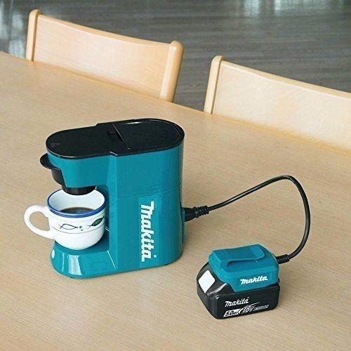 Makita Coffee machine DCM500Z for Li-Ion 18vLXT batteries/wall 240v EU plug 2017