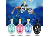 Full face Snorkel Mask with HD Camera Option
