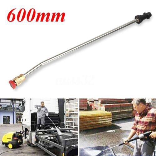 60cm Pressure Washer Wash Nozzle Angled Lance Extension for Karcher K2 K3 K4