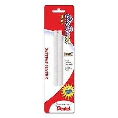 Pentel Clic Eraser Refill - Lead Pencil Eraser - Non-abrasive - 2pack - White