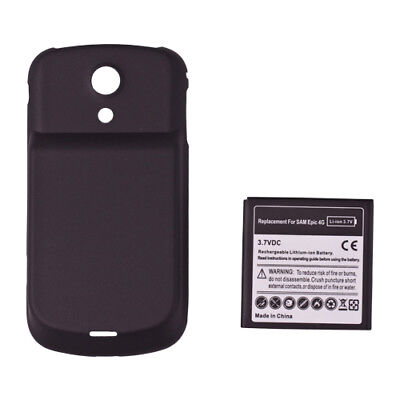 3500mAh Extended Battery + Cover Door Case For Samsung Galaxy S II Epic 4G 3500 Mah Extend Battery