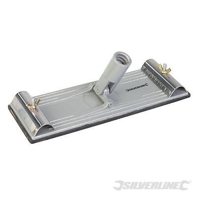 Swivel Pole Sander (QUALITY SWIVEL POLE SANDER PLASTERING SANDING BOARD SILVERLINE 675341 HEAD ONLY)
