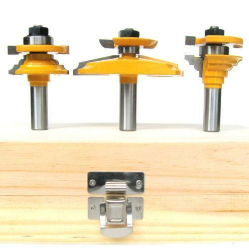 Raised Panel Router Bit Set Ebay