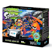 La boite du Bundle Wii U Splatton