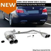 BMW E60 Exhaust