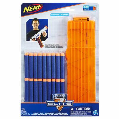 NERF N-STRIKE ELITE 18-DART QUICK RELOAD CLIP & 18 Darts FAST SHIPPING