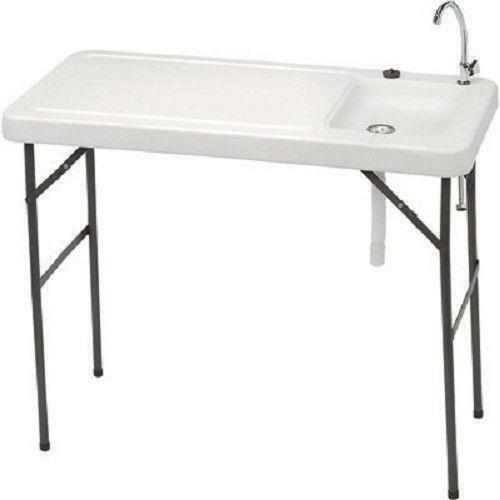 Fish fillet table ebay for Fish cleaning tables