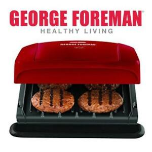 George Foreman GRP1060RC Grill with Removable Plates