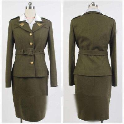 Carter Uniform -  Agent Peggy Carter Uniform Cosplay