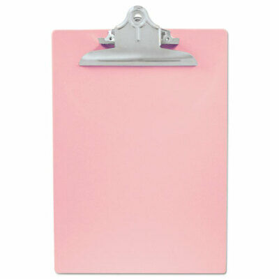 Saunders Recycledplastic Clipboard With 1 Capacity Pink Lettera4 Size 21800