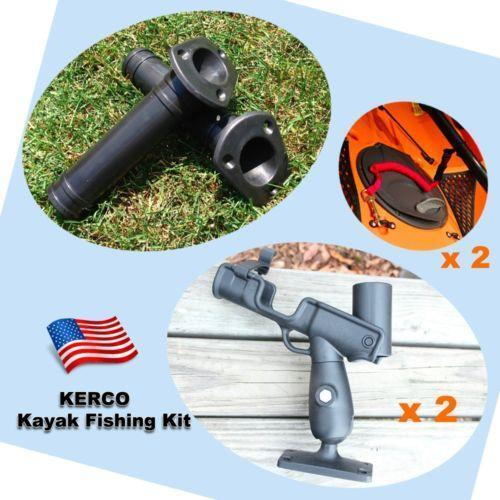 Kayak fishing rod holder ebay for Kayak fishing pole holder