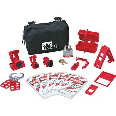 Ideal Electrical 44-970 Basic Lockouttagout Kit
