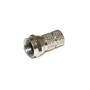 Twist-On-RG59-F-TV-Connector-No-Crimping-Pack-of-10