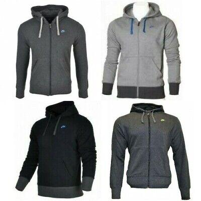 Nike Mens Fleece Hoodie Hooded Sweatshirt Jumper Swoosh Pullover