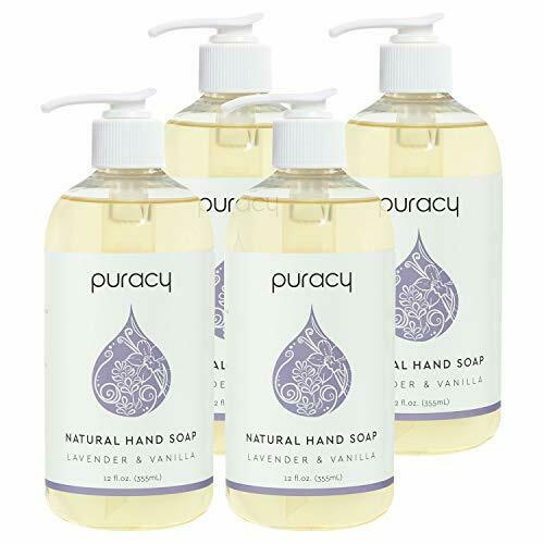 Puracy Natural Liquid Hand Soap , Sulfate-Free Gel Hand Wash