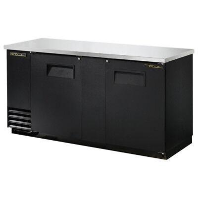 True Tbb-3 Back Bar Cooler 2 Door 69w Black