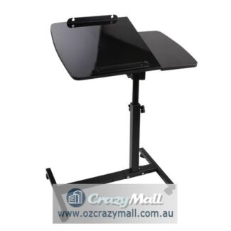 Adjustable Mobile Notebook Laptop Desk Black/White