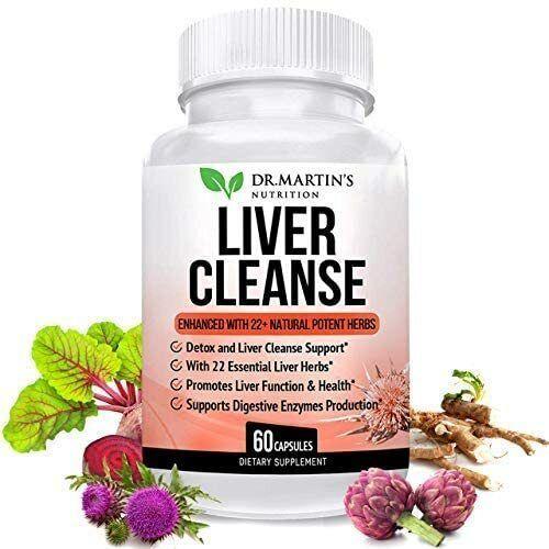 Mejores pastillas naturales para limpiar el hígado graso desintoxicar el cuerpo