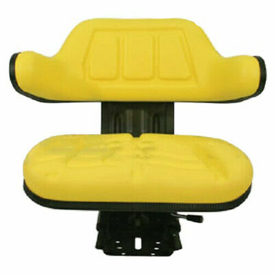 Yellow Tractor Suspension Seat For John Deere 5200 5210 5300 5310 5400 5410 Iep