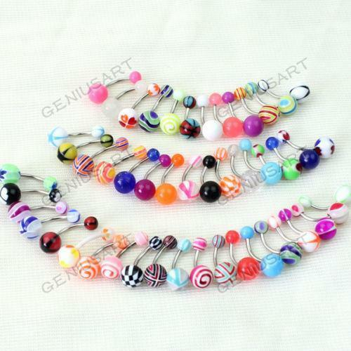 Belly Button Rings Lot