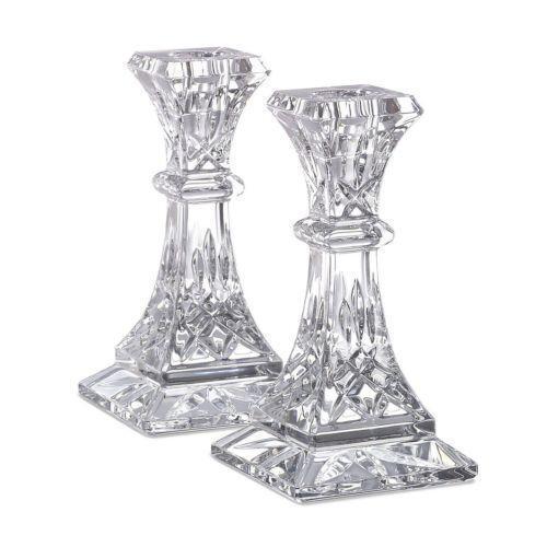 Waterford Crystal Lismore Candlesticks Ebay