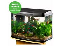 64 Litre Panorama fish tank/aquarium with stand
