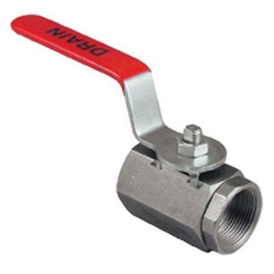 Drain Valve For Deep Fryer 1.25 Pipe Steel New 13415