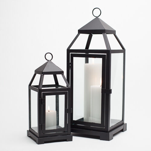 Richland Metal Lantern Contemporary Home, Event & Wedding Decor